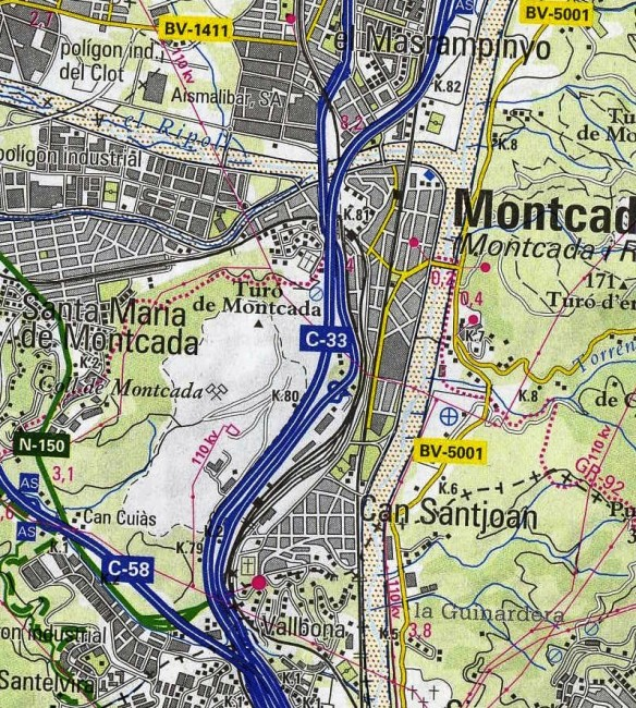 A - Mapa de situació
