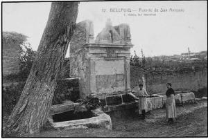 Bellpuig . La Font de Sant Antoni