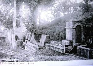 Font Cal Gras - L'any 1910