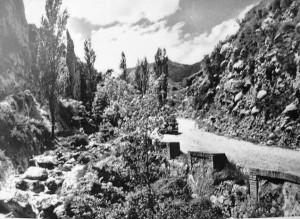 Font Mossen Guiu - l'any 1964