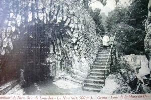 La Cova de la Verge i Les Fonts - L'any 1917
