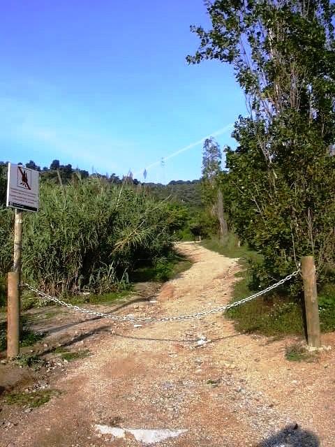Entrada camí Ft Alba