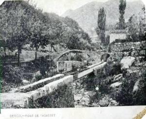 Font Tagastet - L'any 1915