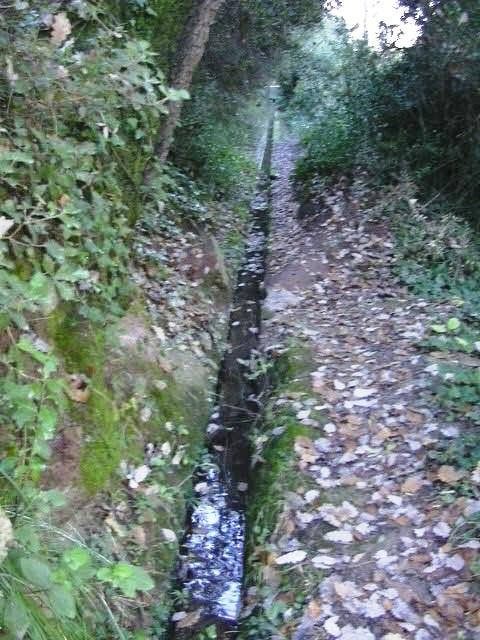 Canal des de la Mina