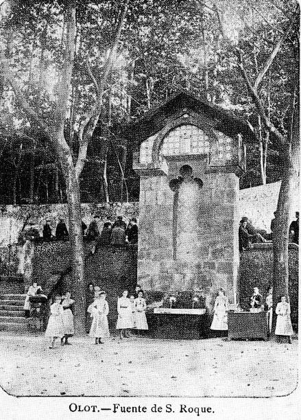 Olot - Sant Roc - 1915