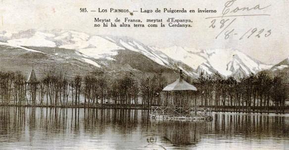 Puigcerda - llac - Hivern
