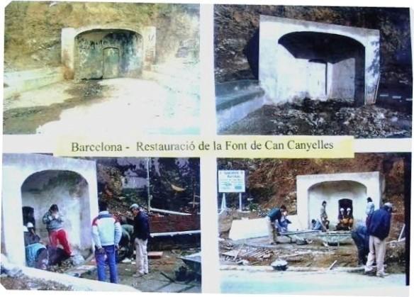 Restauració F. Can Canyelles