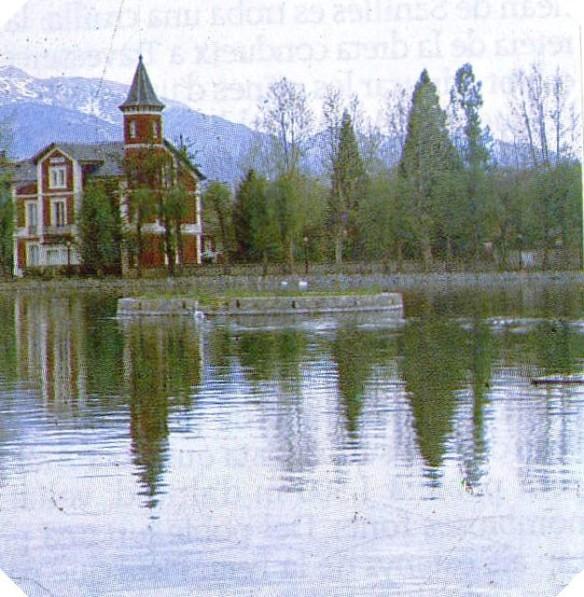 Vista central del llac
