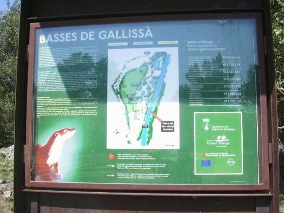 A1 - Cartell Basses de Gallissá