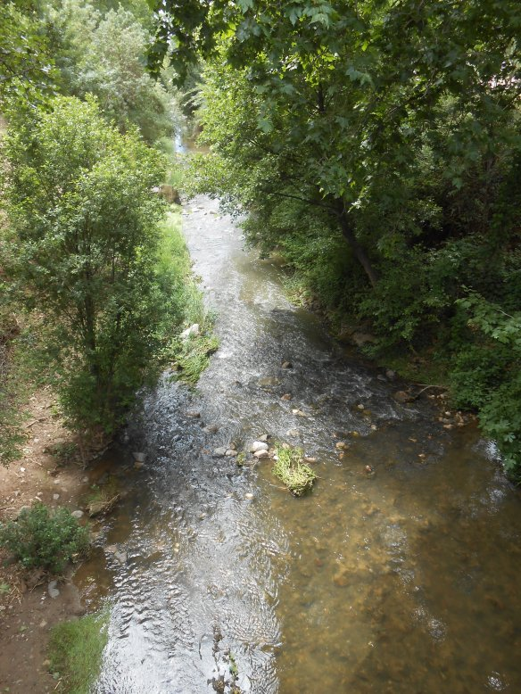 Riu Congost a La Garriga