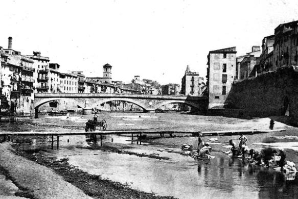 El riu és el safareig, a Girona