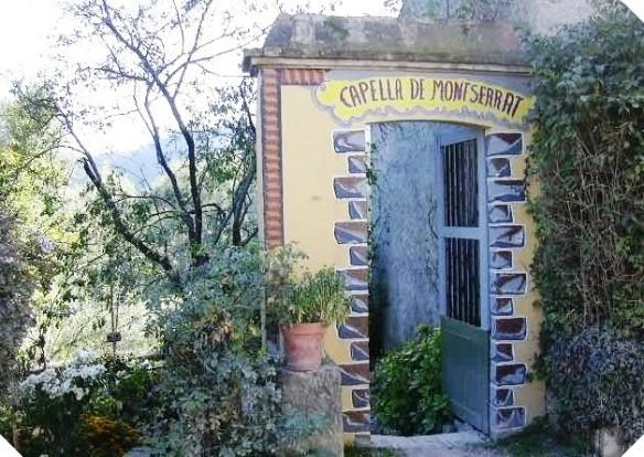 Entrada Capella Montserrat