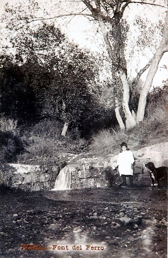 Font del Ferro 1906