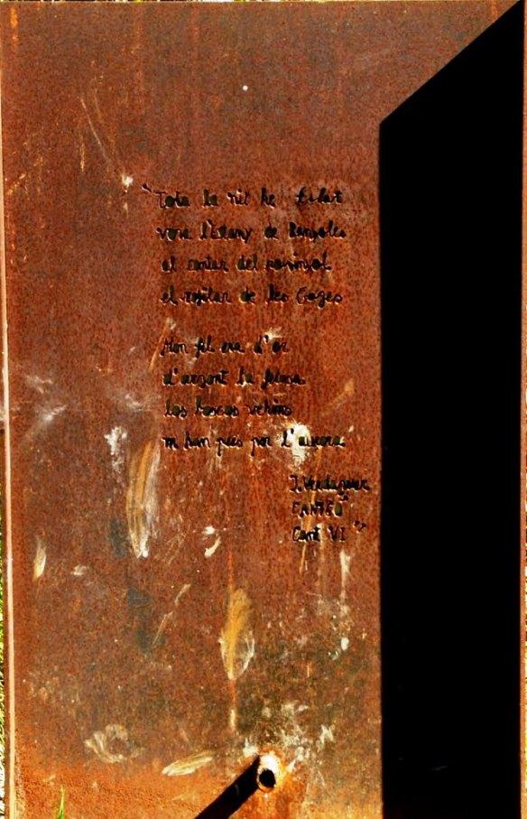 Font Filosa Poema