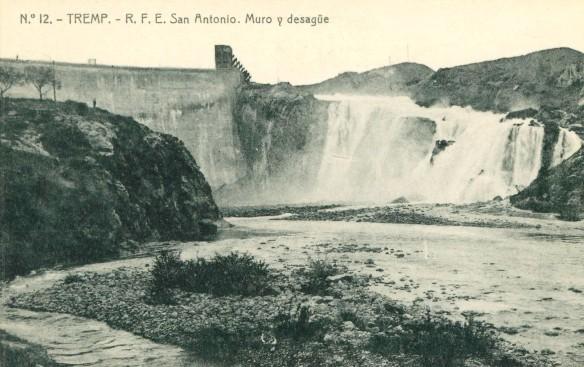 Tremp - Pantà  St. Antoni - Desguas