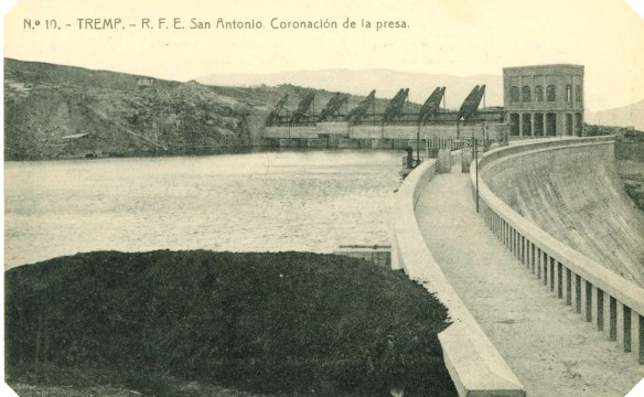 Tremp - Pantà  St. Antoni - Mur