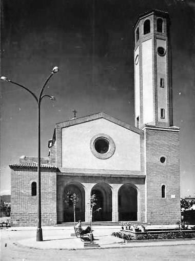 Esglesia de Sant en 1946