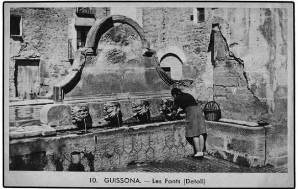 Guissona - Fonts