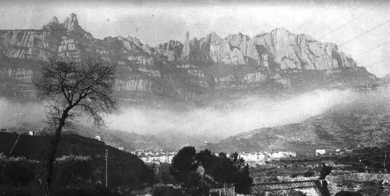Monistrol de Montserrat - Vista i Tren_01
