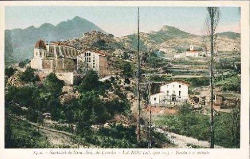 Santuari a principis segle XX