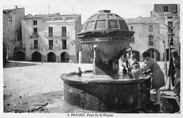 Prades - La Font Plaça