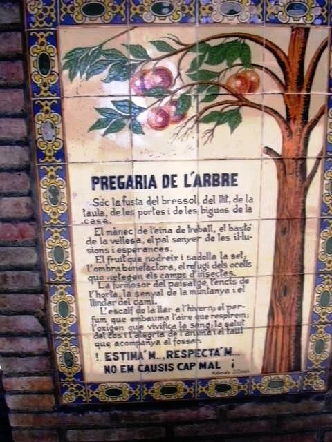 Tordera - Cartell Font Parc 1