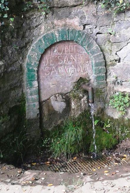 Font de Sant Salvador - Masies de Ter - copia