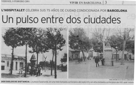 L'Hospitalet  LL. - Pça. Espanya - Font_01