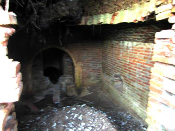 Interior de la Mina - Feixes Torre del Canonge -Actual