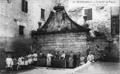 Montblanc - Font de la Plaça