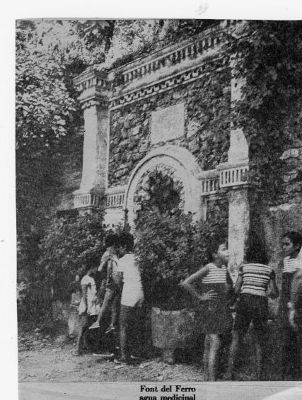 Esplugues de Francoli - Font del Ferro - Balneari