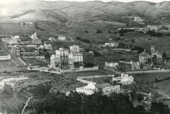 Horta a principis del segle XX