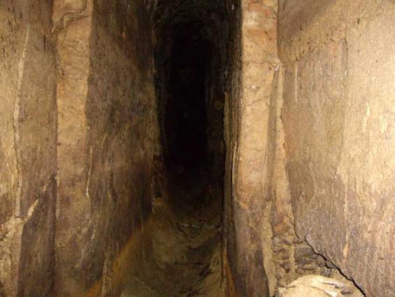 Interior de la Mina - Arxiu Fent Fonts Fent F.