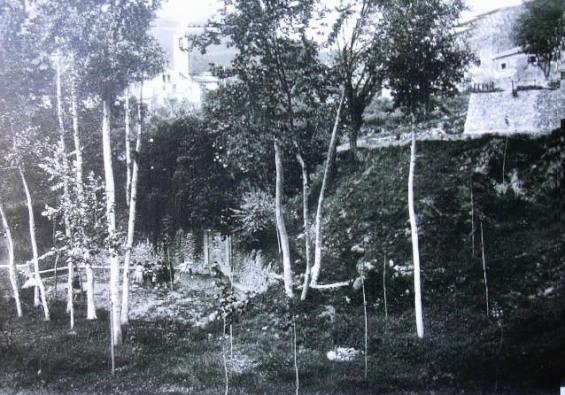 Font de Montserrat a principis del segle XX