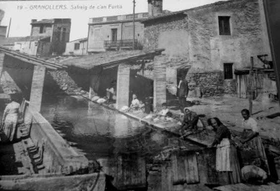 Safareig Can Furtià Anys 1920