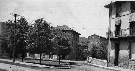 Poble de Sant Pau de Seguries - anys 1950