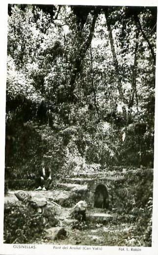 La Font de l'Aranyal, molt antiga i de llarga tradició de fer fontades