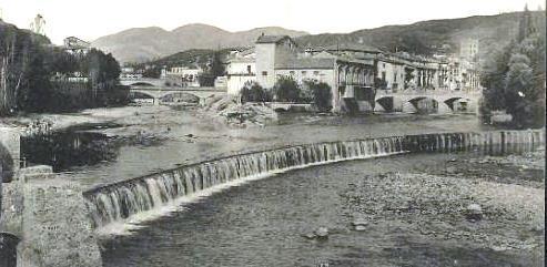Aiguabarreig rius Freser i Ter