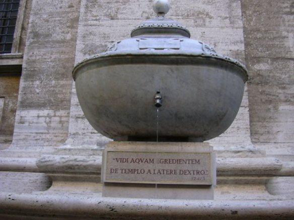 Detall Font de Sant Pere