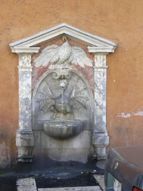 Fontana del Drac i Ocell