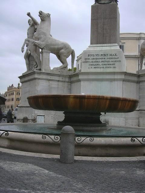 Font Piazza Quirinale